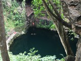 Chichen Itza and Ik Kil Cenote